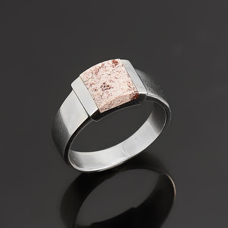 Кольцо яшма  (серебро 925 пр.) размер 17 кольцо хризопраз серебро 925 пр размер 17