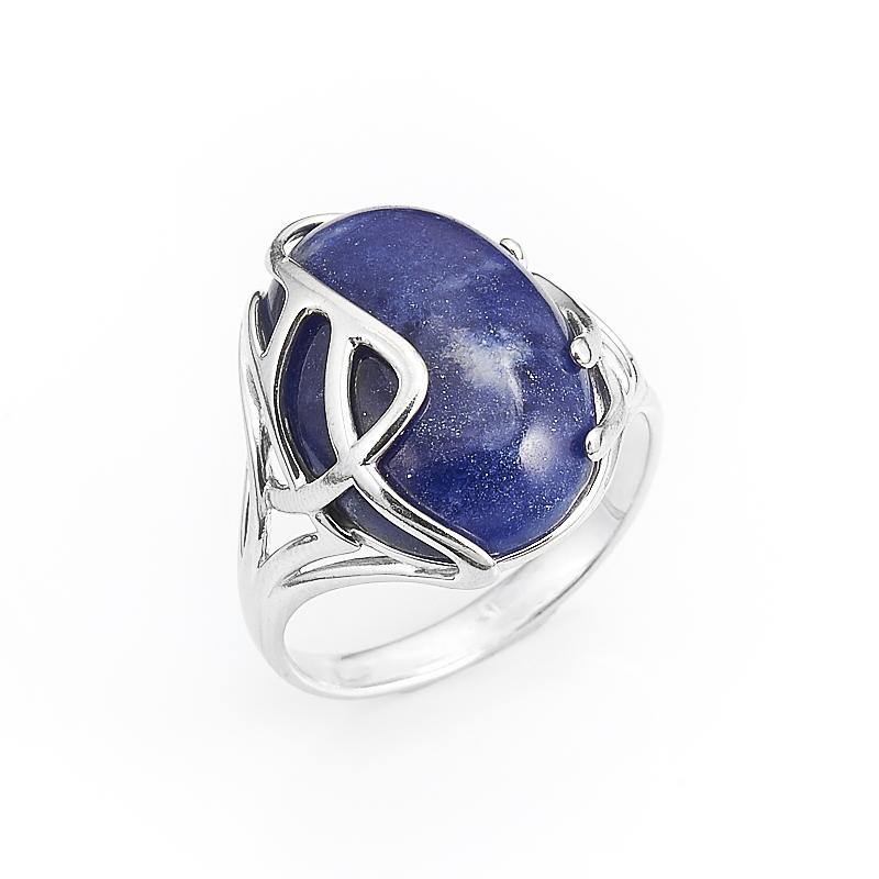 Кольцо содалит  (серебро 925 пр.) размер 17 кольцо хризопраз серебро 925 пр размер 17