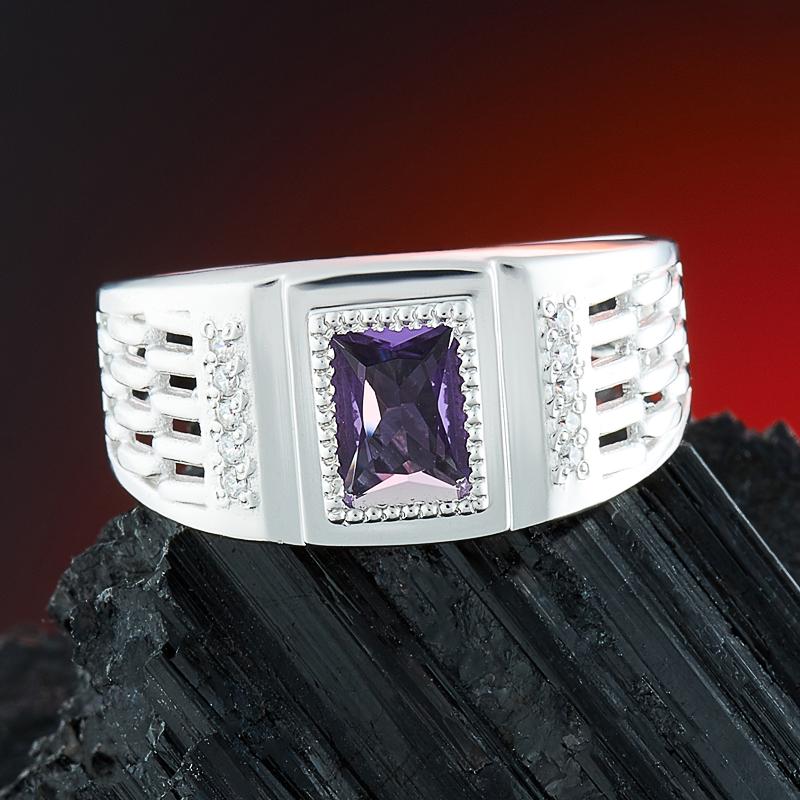 Кольцо аметист  огранка (серебро 925 пр.) размер 20 кольцо аметист серебро 925 пр размер 20 5