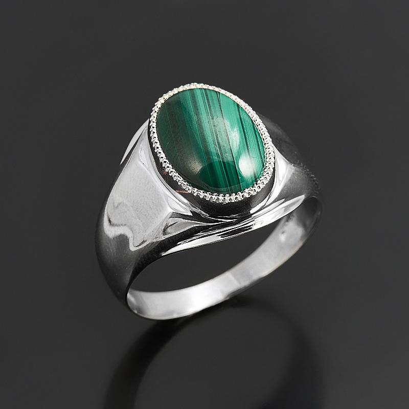 Кольцо малахит  (серебро 925 пр.) размер 20 кольцо лазурит серебро 925 пр размер 20