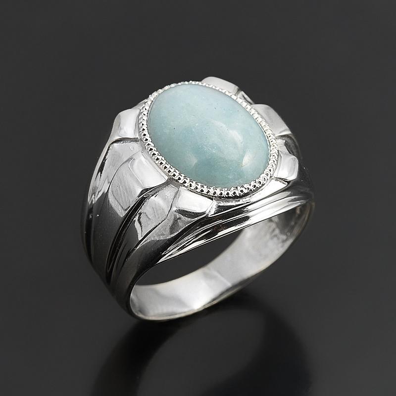 Кольцо аквамарин (серебро 925 пр.) размер 18,5 кольцо аквамарин серебро 925 пр размер 17 5
