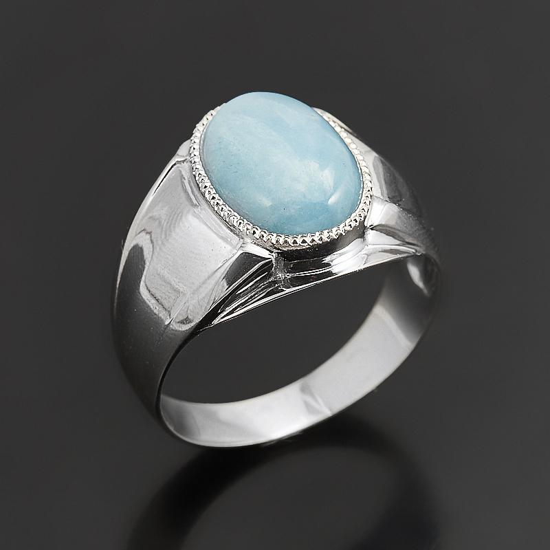 Кольцо аквамарин (серебро 925 пр.) размер 20 кольцо лазурит серебро 925 пр размер 20