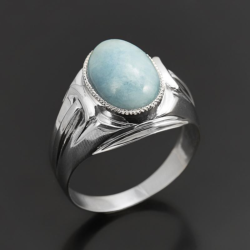 Кольцо аквамарин (серебро 925 пр.) размер 21 кольцо аквамарин серебро 925 пр размер 17 5