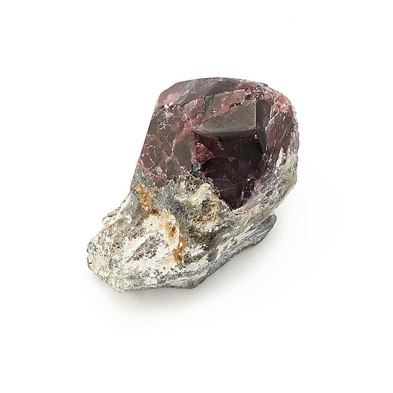 Кристалл в породе гранат альмандин  XXS кристалл в породе турмалин xxs 30х22 мм