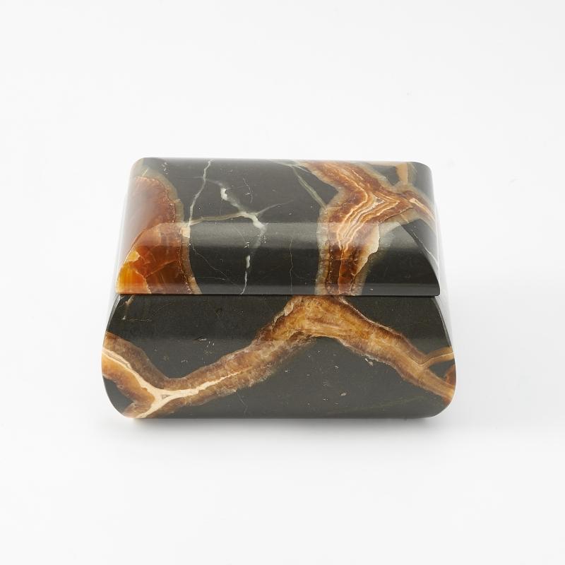 Шкатулка симбирцит 8,5х6,5х5,5 см
