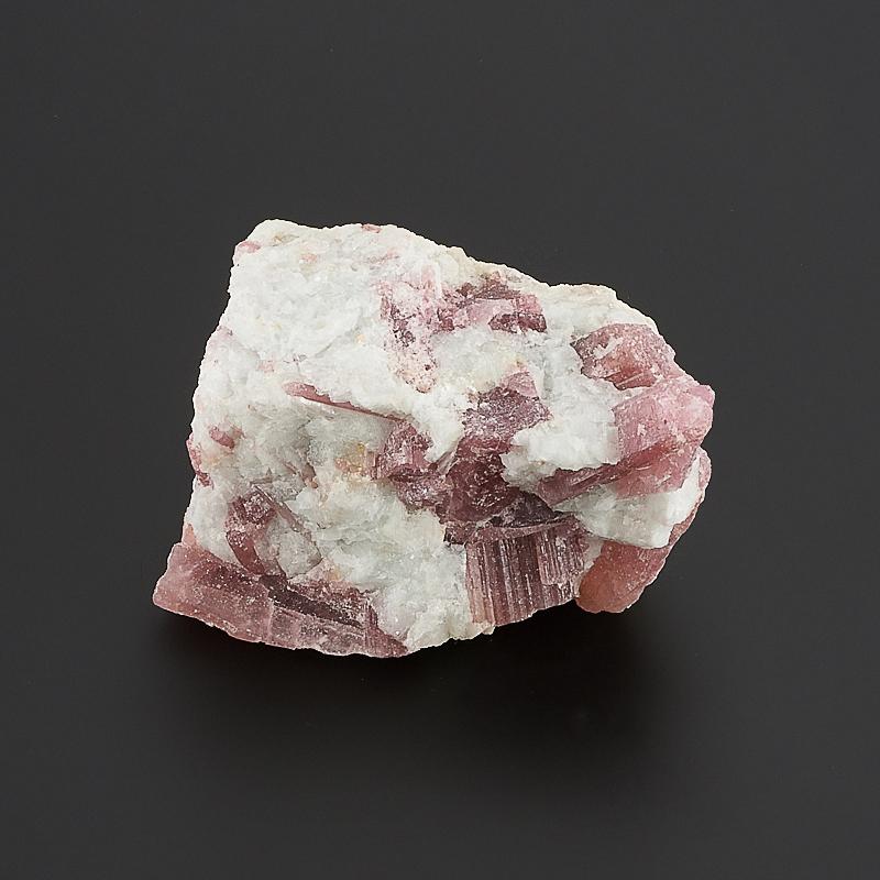 Кристалл в породе турмалин розовый (рубеллит)  S
