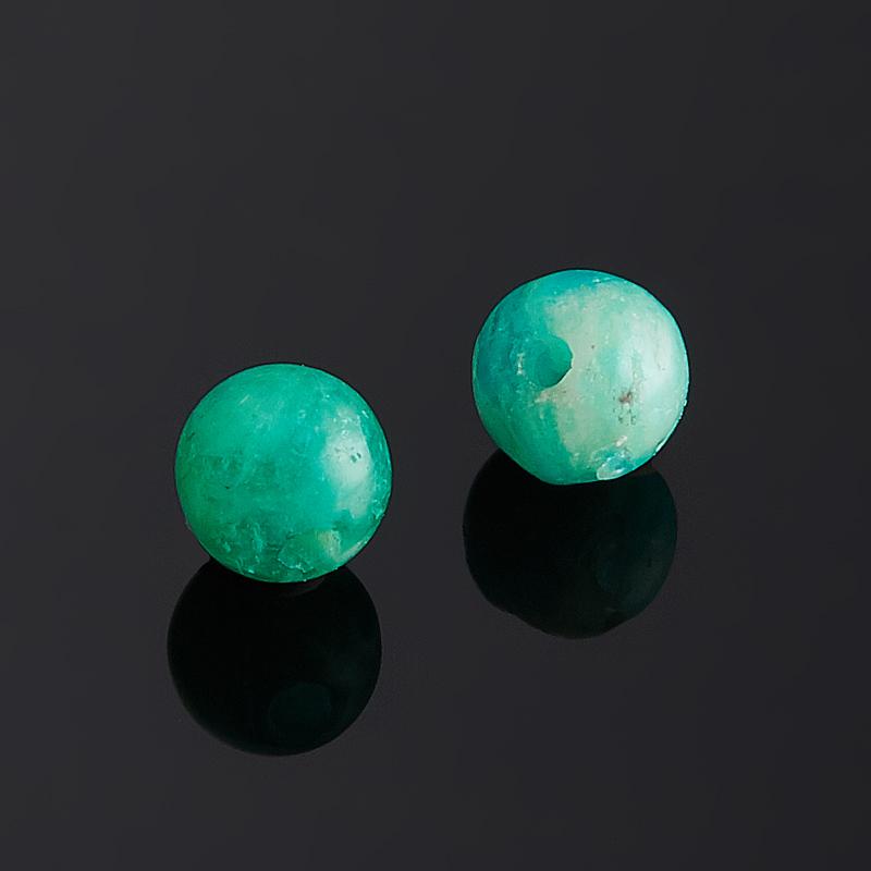 Бусина амазонит шарик 4 мм (1 шт)