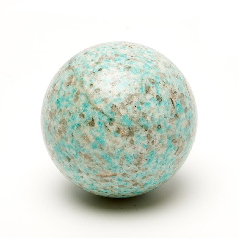 Шар амазонит 4,5 см шар амазонит 6 см