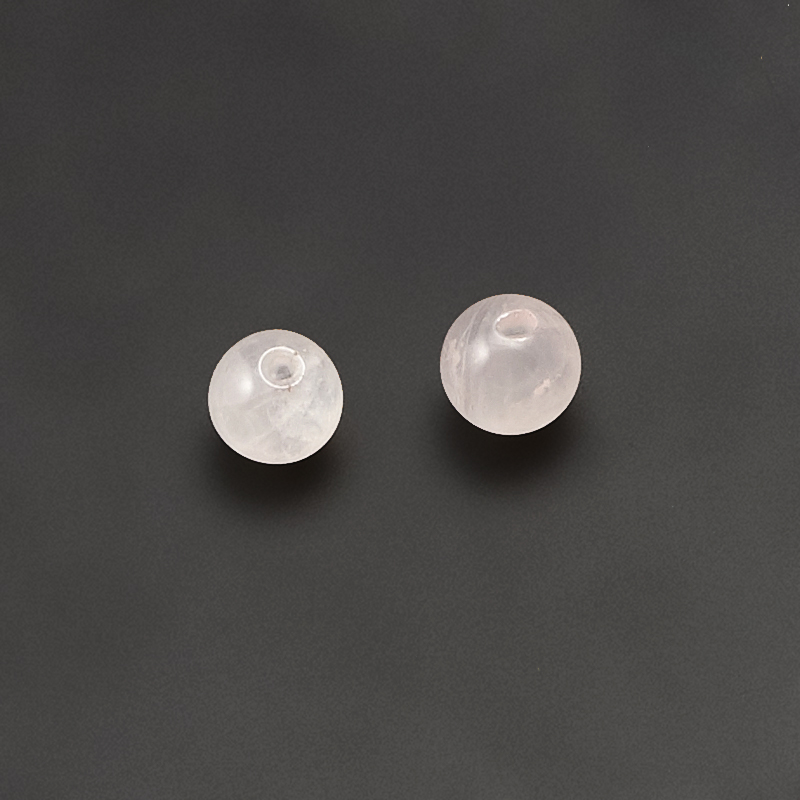 Бусина розовый кварц  шарик 6 мм (1 шт) бусина яшма рисунчатая шарик 6 6 5 мм 1 шт