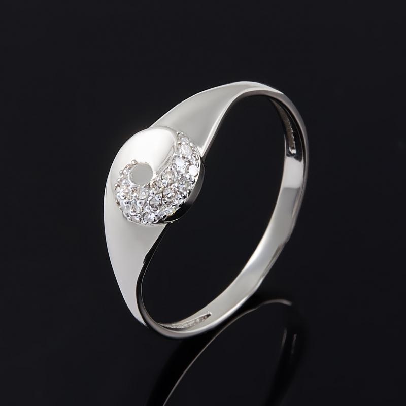 Кольцо бриллиант Россия огранка (золото 585 пр.) размер 16,5