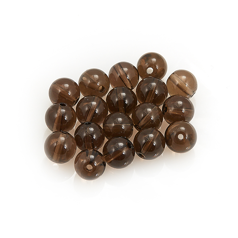 Бусина раухтопаз  шарик 10,5 мм (1 шт) бусина сердолик светлый прозрачный сплюснутый шар 6 5 мм 1 шт