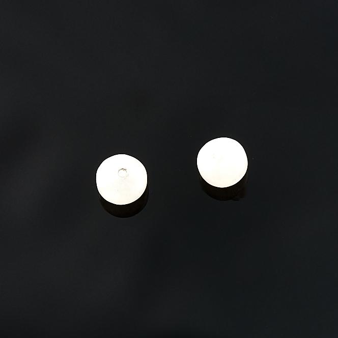 Бусина розовый кварц  шайба 6 мм (1 шт) бусина сердолик светлый прозрачный сплюснутый шар 6 5 мм 1 шт