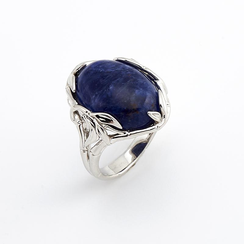 Кольцо содалит  (серебро 925 пр.) размер 18