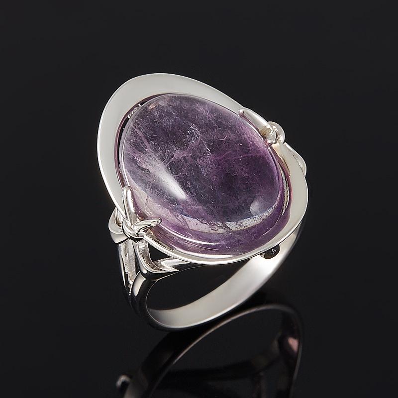 Кольцо флюорит (серебро 925 пр.) размер 18