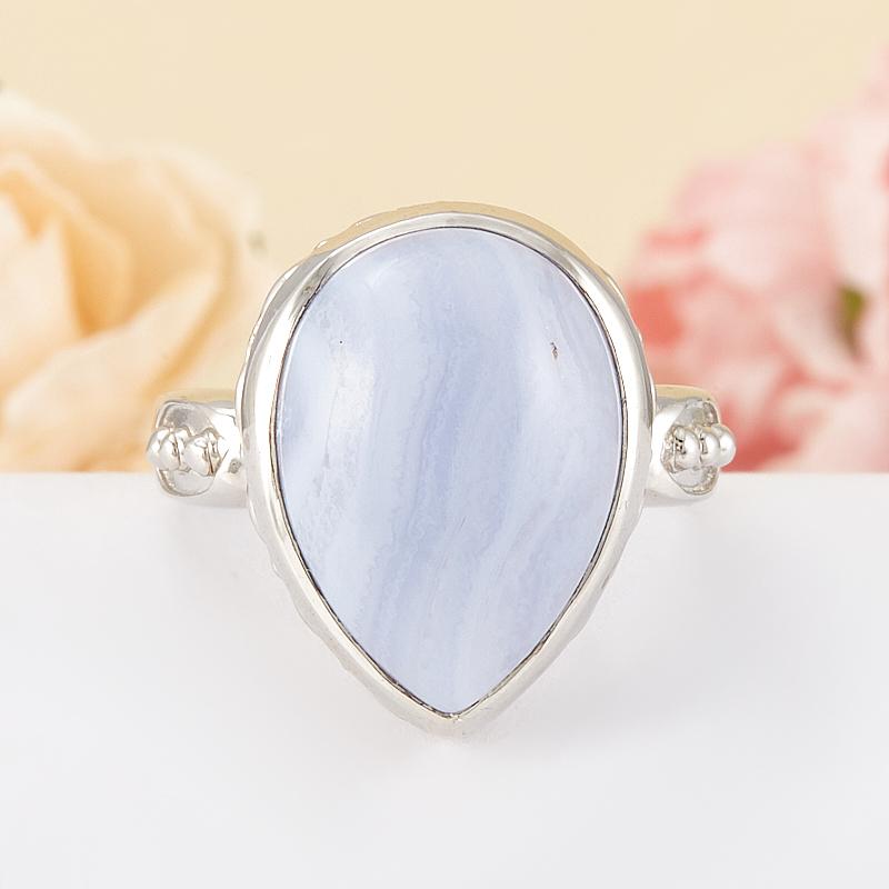 Кольцо агат  (серебро 925 пр.) размер 18,5
