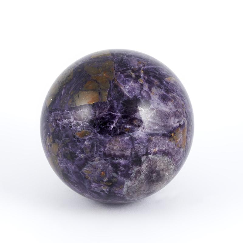 Шар флюорит фиолетовый  4,5 см
