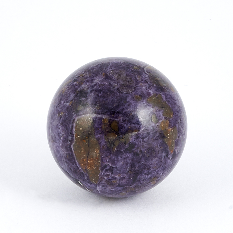 Шар флюорит фиолетовый  3,5 см