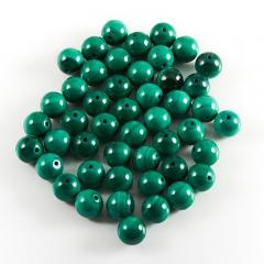 Бусина малахит Конго шарик 6 мм (1 шт)