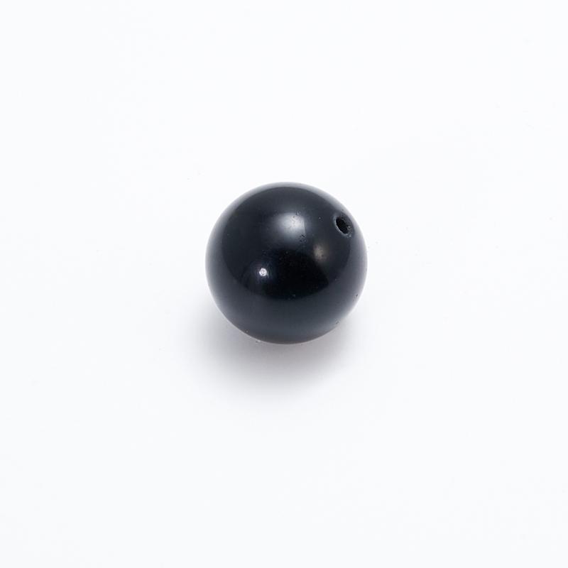 Бусина обсидиан золотистый  шарик 16 мм (1 шт) бусина авантюрин зеленый шайба 6 6 5 мм 1 шт