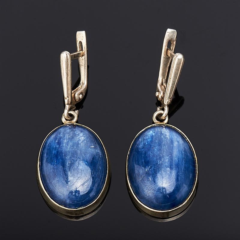 Серьги кианит синий (нейзильбер) жен крупногабаритные серьги слезки серьги кольца крупногабаритные массивный белый темно синий светло синий квадратный