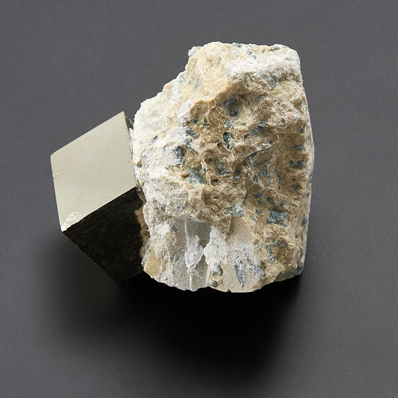 Кристалл в породе пирит XS кристалл пирит xs