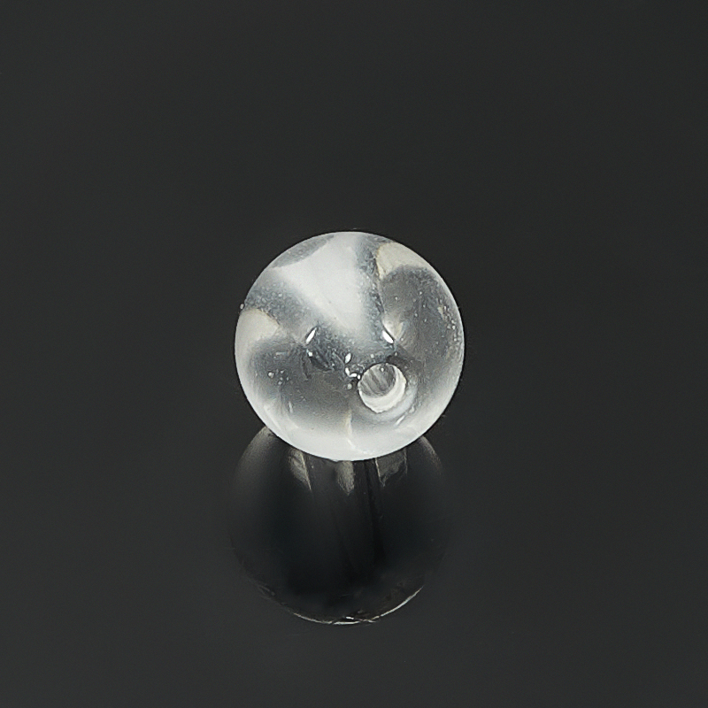 Бусина горный хрусталь Бразилия шарик 8-8,5 мм (1 шт)