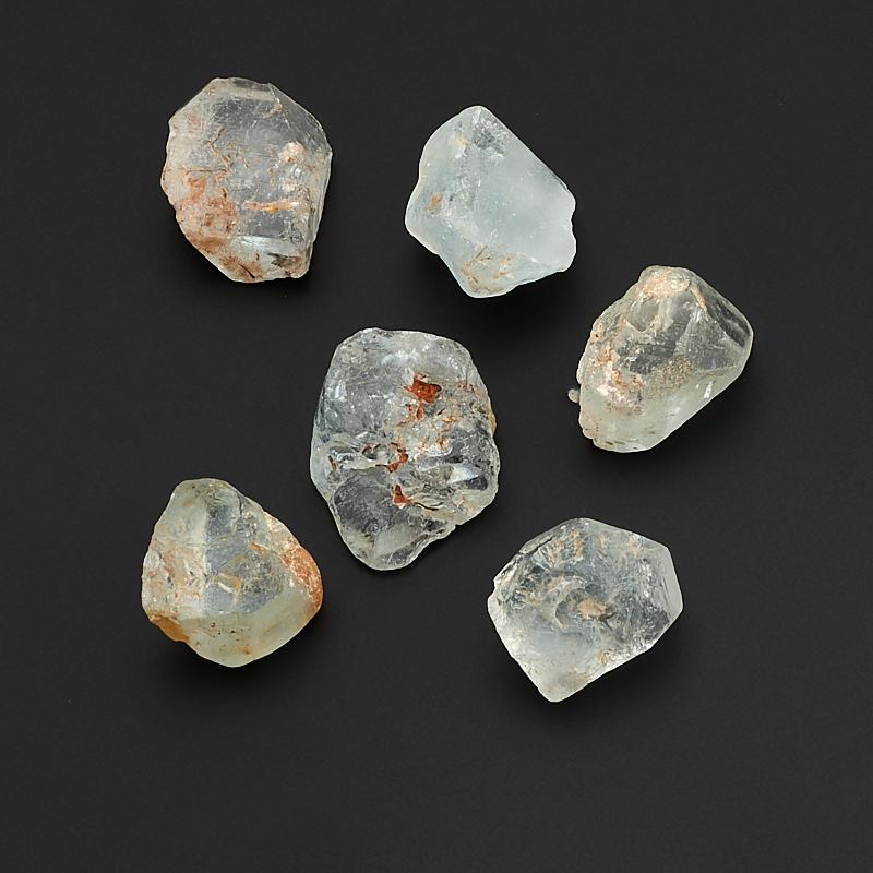 Кристалл топаз голубой  (2-2,5 см) 1 шт