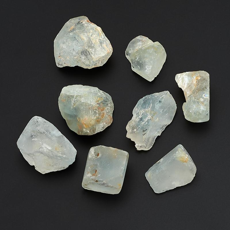 Кристалл топаз голубой  (2,5-3 см) 1 шт