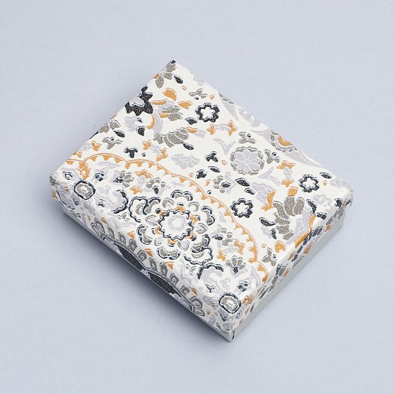 Подарочная упаковка под комплект (серьги, кольцо) 90х65х25 мм
