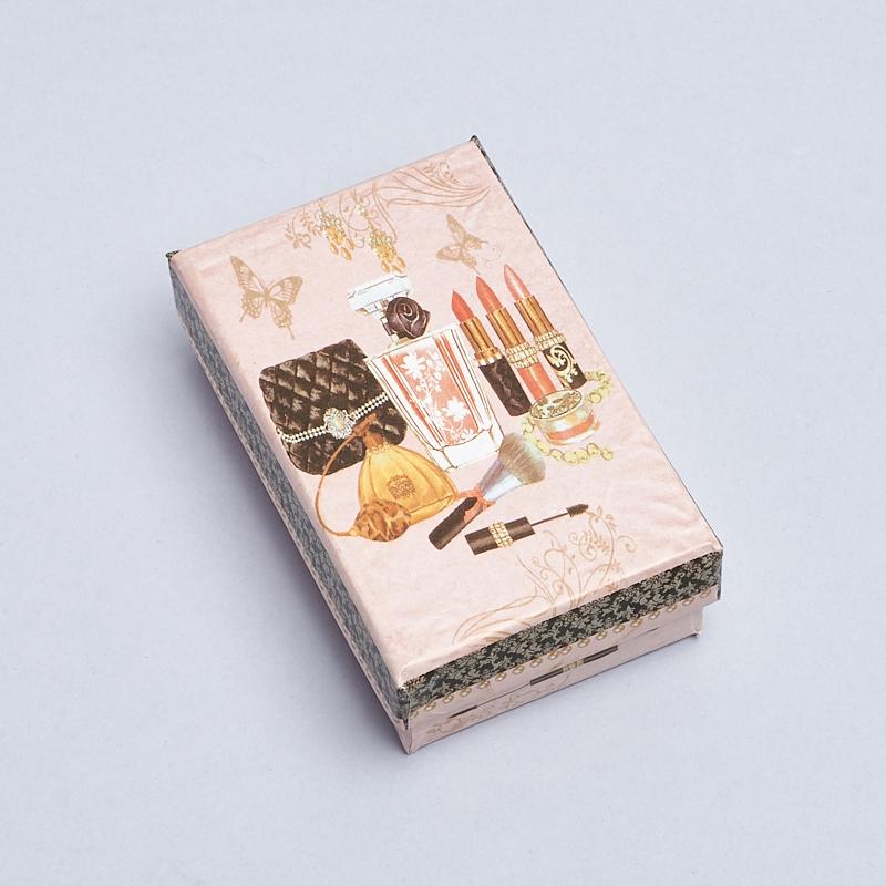 Подарочная упаковка под комплект (кольцо, серьги, кулон) 80х50х22 мм