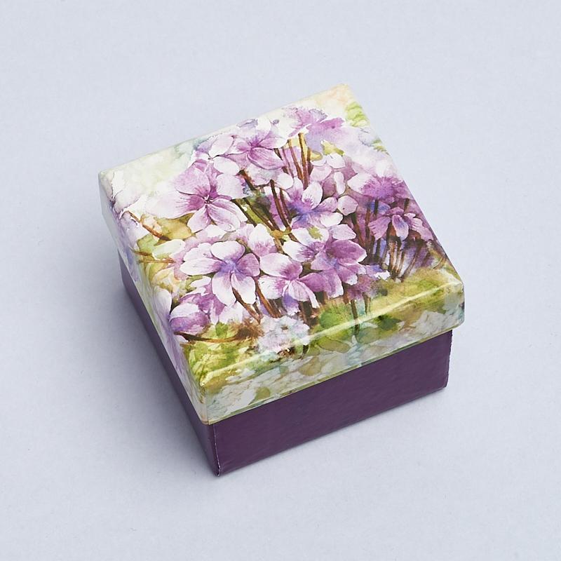 Подарочная упаковка под комплект (серьги, кольцо) 50х50х30 мм