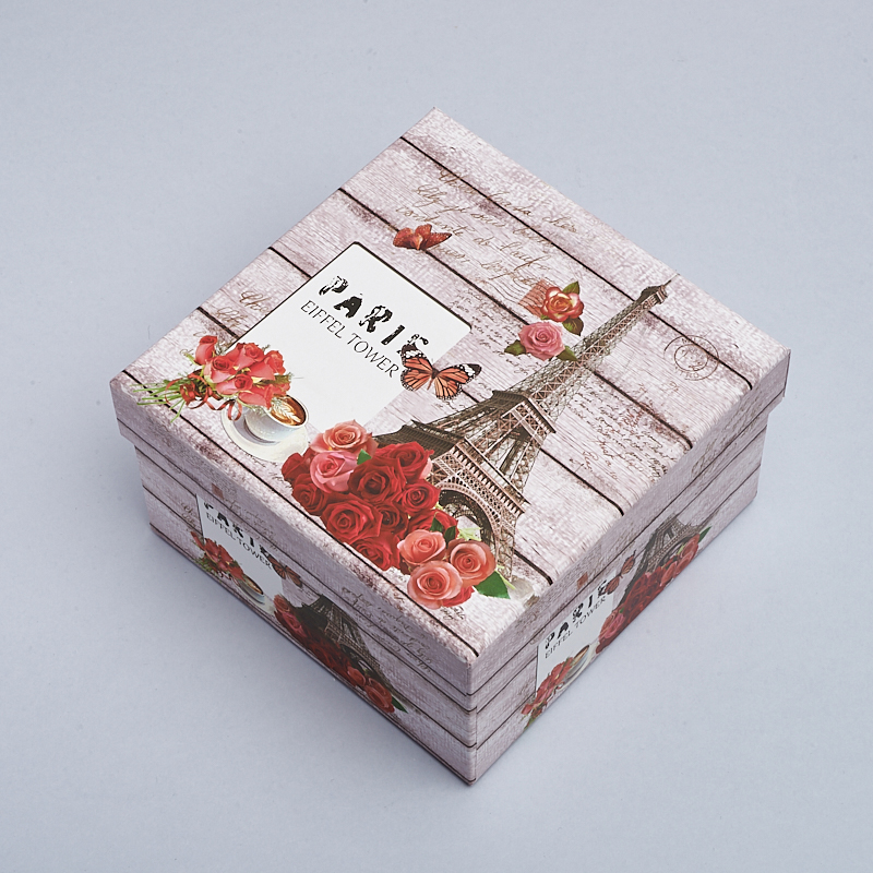 Подарочная упаковка универсальная 130х130х75 мм