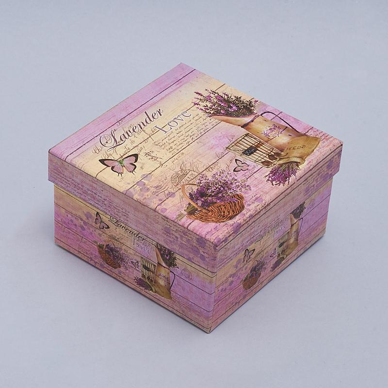 Подарочная упаковка универсальная 130х130х75 мм подарочная упаковка классическая до 20см