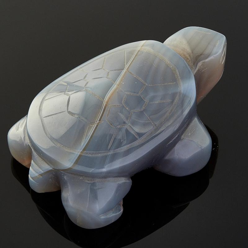 Черепаха агат серый  8 см