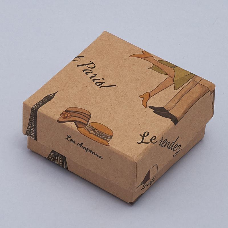 Подарочная упаковка универсальная 65х65х30 мм
