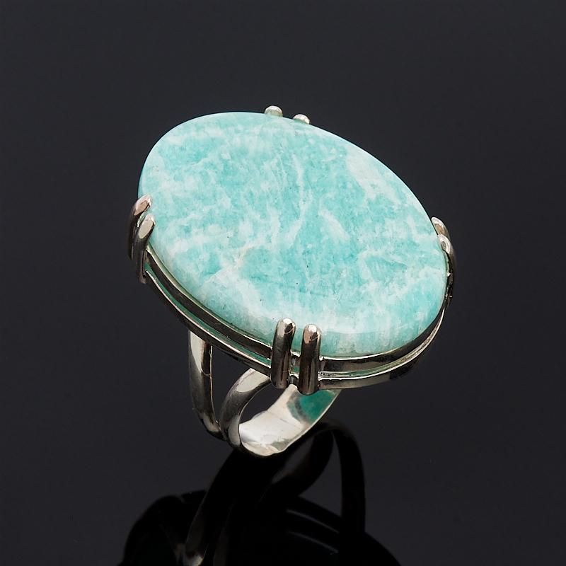 Кольцо амазонит (серебро 925 пр.) размер 17 кольцо амазонит серебро 925 пр размер 19