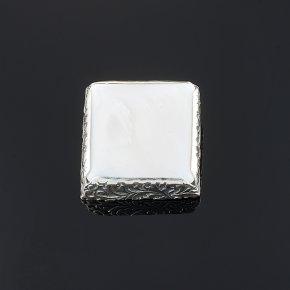 Брошь перламутр белый Индонезия (серебро 925 пр.)
