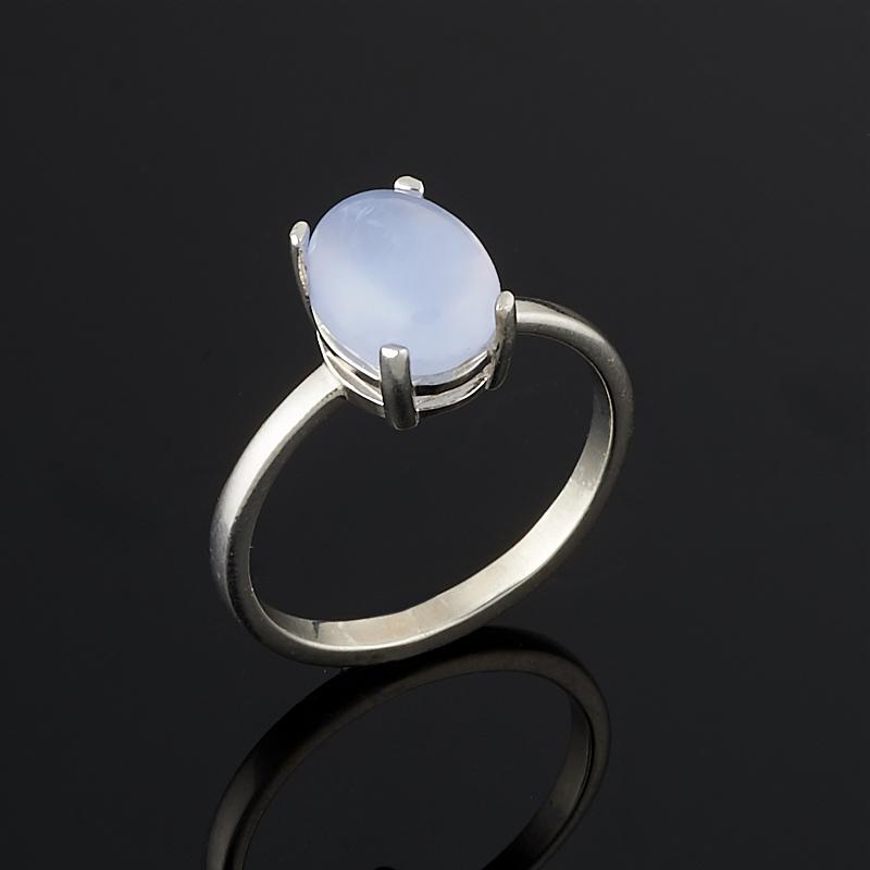 Кольцо агат сапфирин  (серебро 925 пр.) размер 18,5