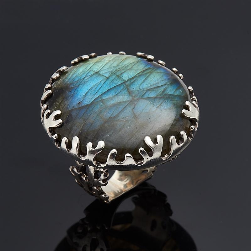 Кольцо лабрадор (серебро 925 пр.) размер 18 юбка stets