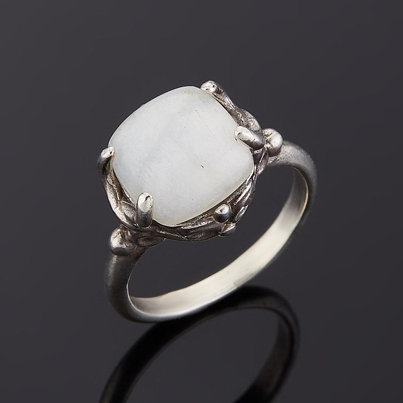 Кольцо лунный камень  (серебро 925 пр.) размер 16,5