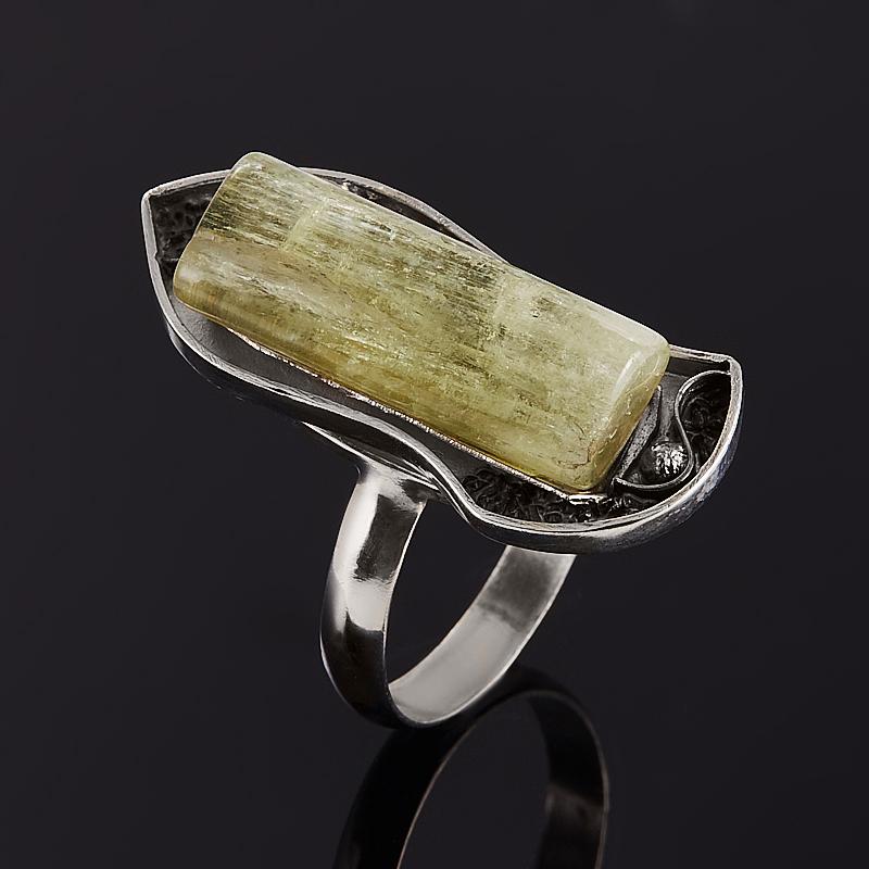 Кольцо берилл желтый (гелиодор) Россия (серебро 925 пр.) размер 18,5