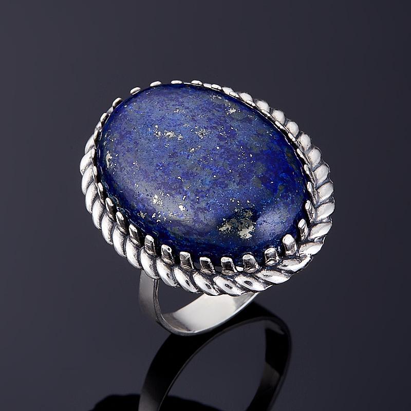 Кольцо лазурит (серебро 925 пр.) размер 19 kinklight 08598 19