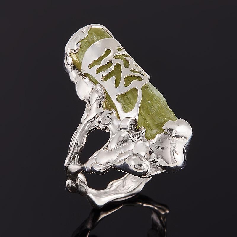 Кольцо берилл желтый (гелиодор)  (серебро 925 пр.) размер 16