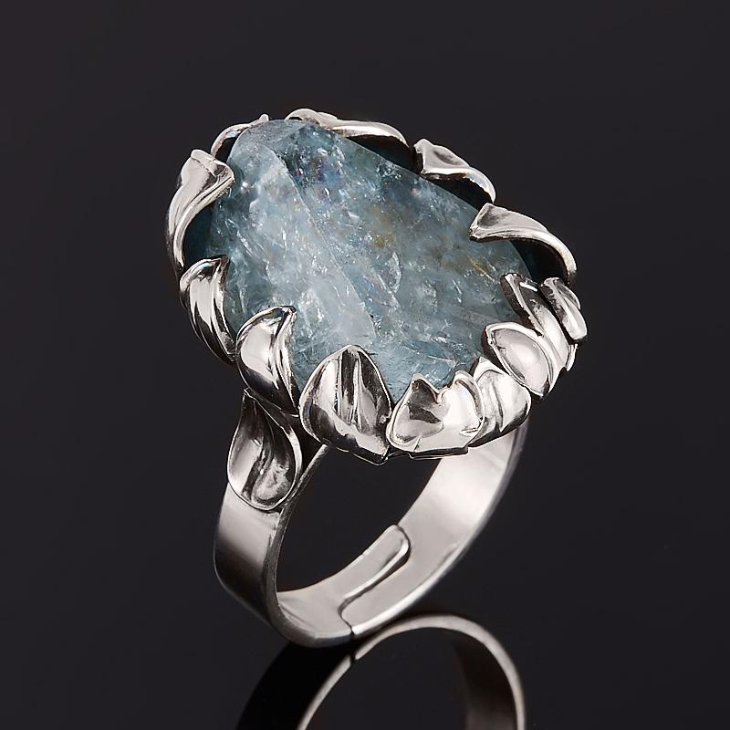 Кольцо топаз голубой (серебро 925 пр.) размер регулируемый кольцо голубой топаз chantal кольцо голубой топаз