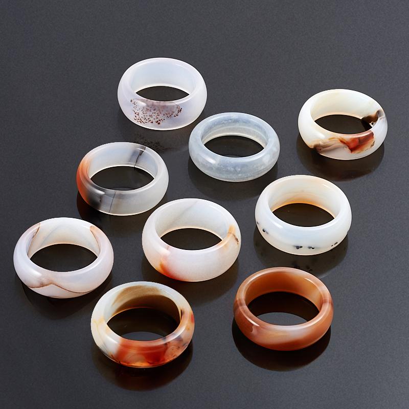 Кольцо агат (цельное) размер 20