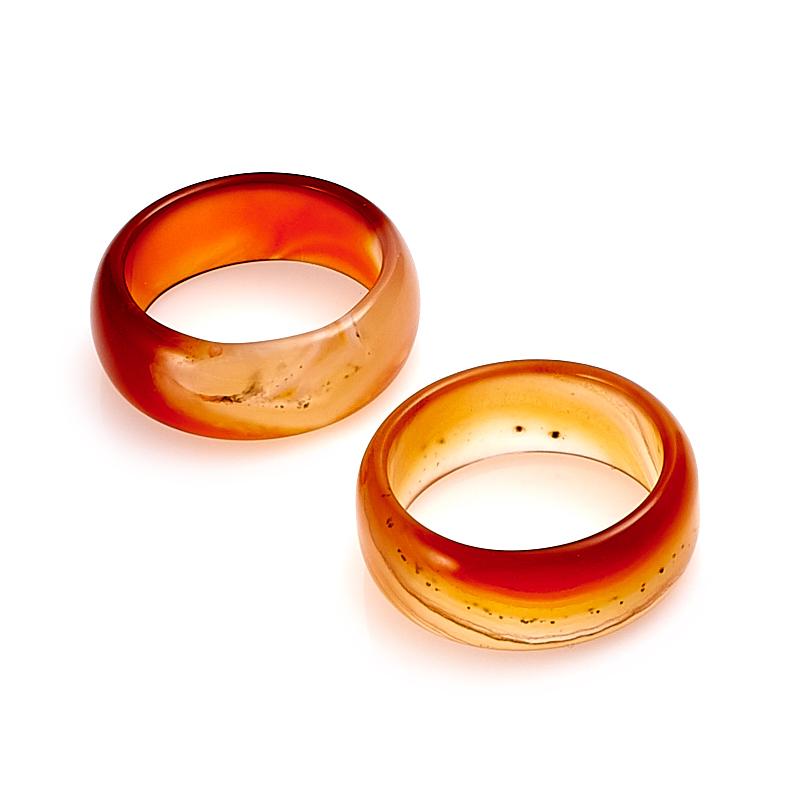 Кольцо сердолик (цельное) размер 18