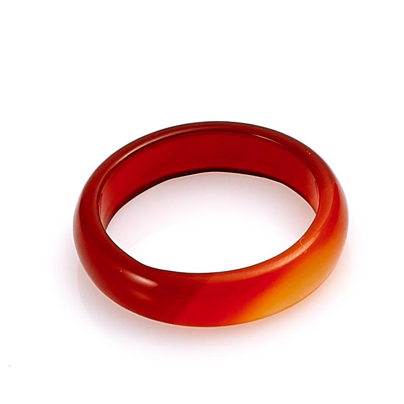 Кольцо сердолик  (цельное) размер 21
