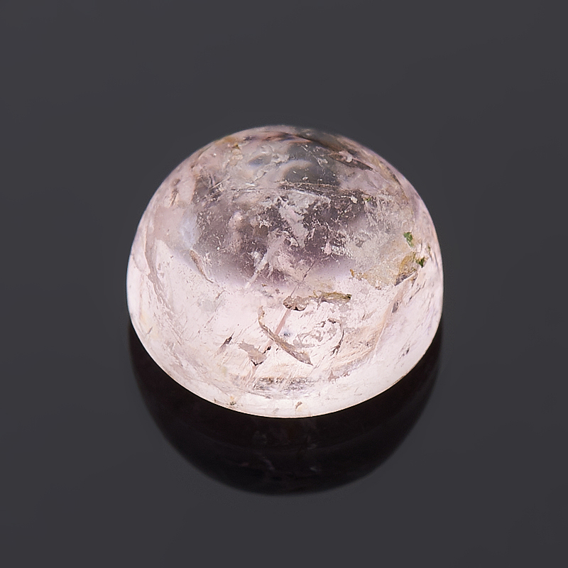 Кабошон турмалин розовый (рубеллит) 7 мм