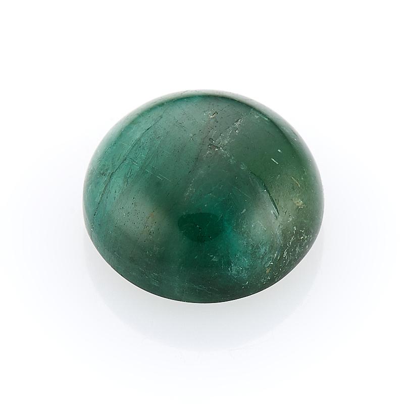 Кабошон турмалин зеленый (верделит) 8 мм кабошон турмалин зеленый верделит 8 мм