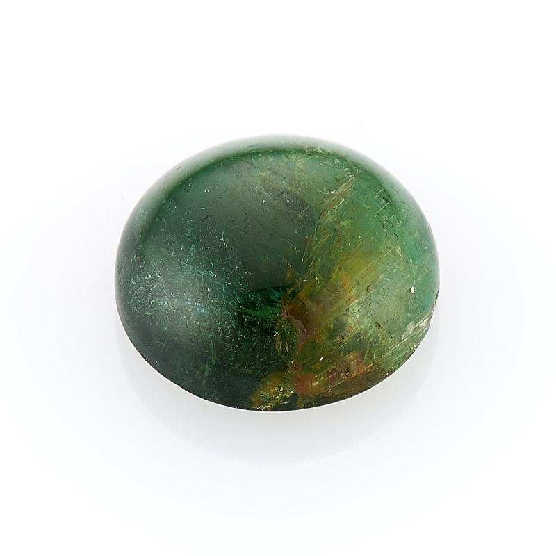 Кабошон турмалин зеленый (верделит) 8 мм кабошон турмалин 8 10 мм